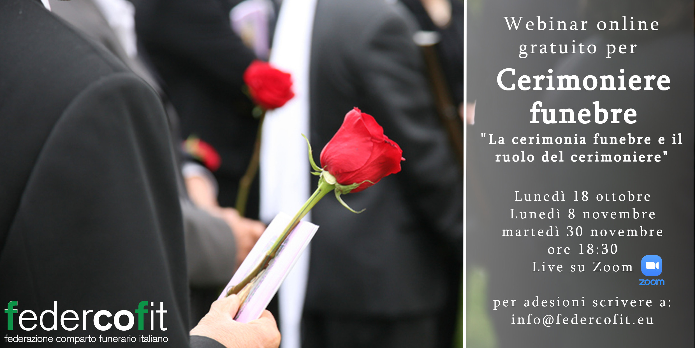 Corso da Cerimoniere Funebre - Webinar gratuito